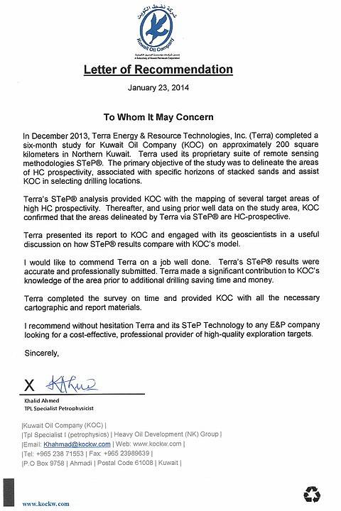 Terra Press Release - September 27, 2011